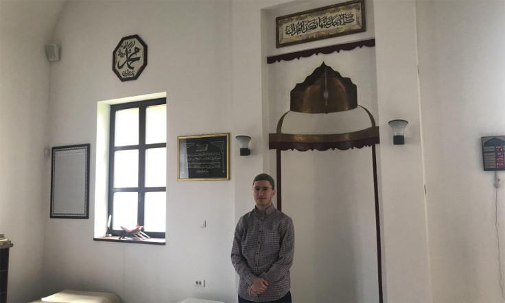 Hafiz Mimić u džamiji Saračica