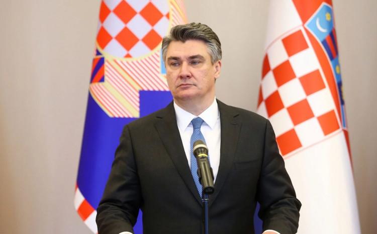 Predsjednik Republike Hrvatske Zoran Milanović