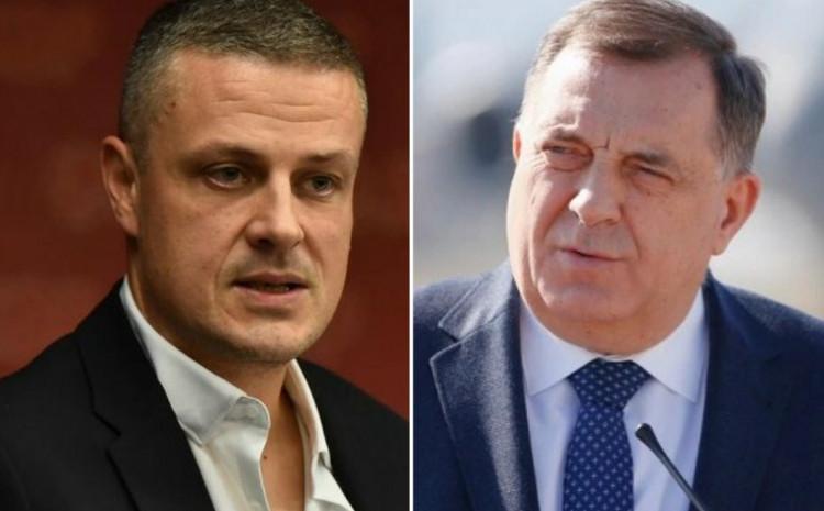 Vojin Mijatović i Milorad Dodik