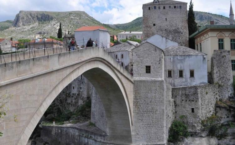 U Mostaru osam stepeni