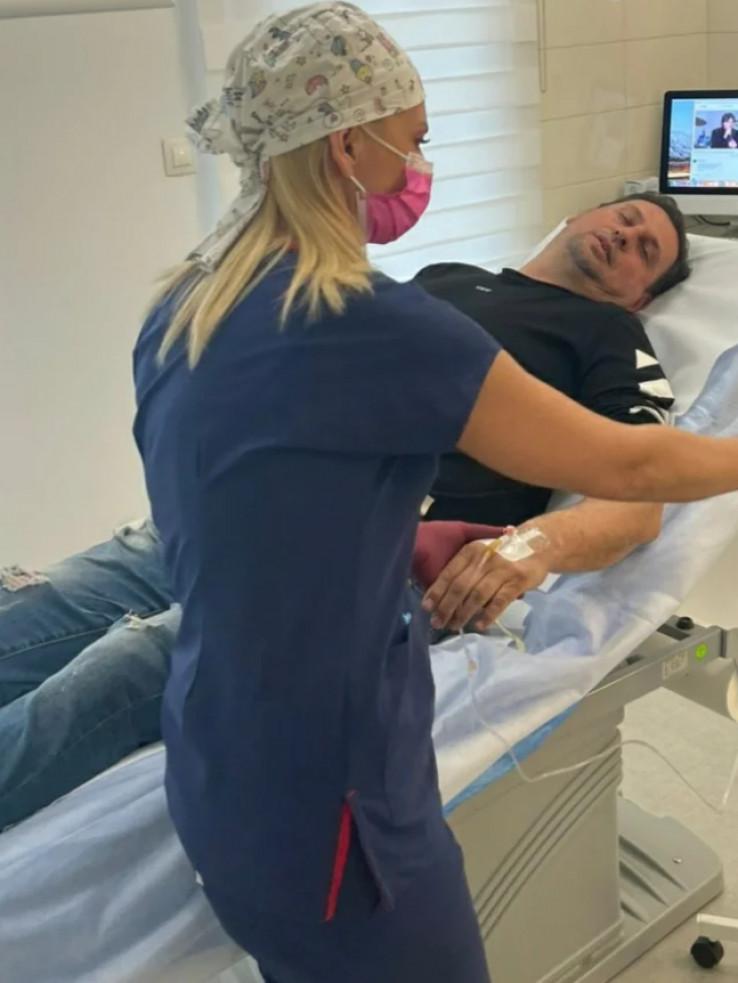 Taki Marinković: Ne znam da li će me doktori pustiti