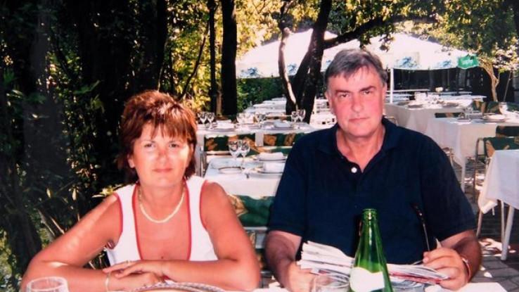 Sa suprugom Anom