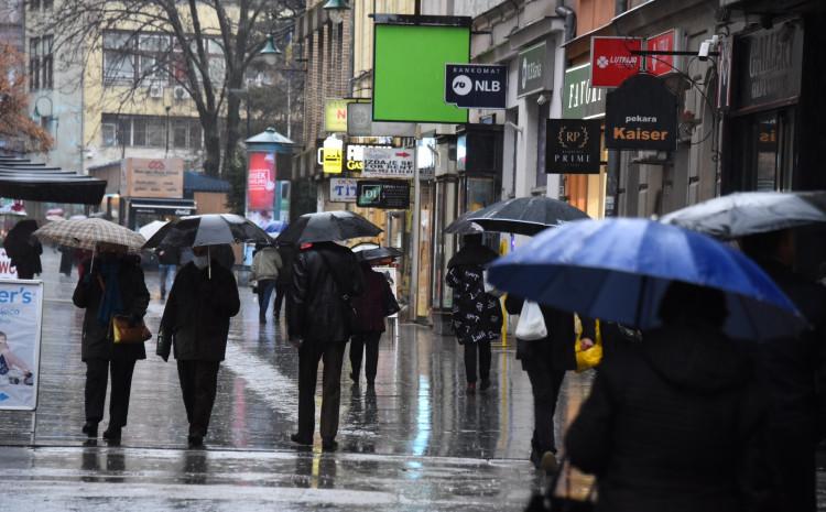 U Sarajevu je tokom dana moguća slaba kiša