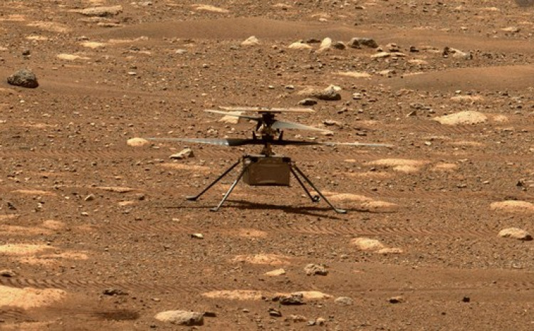 Helikopter na Marsu