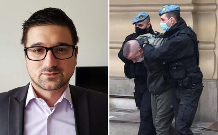 Advokat Aleksandar Remić zastupa osumnjičenog
