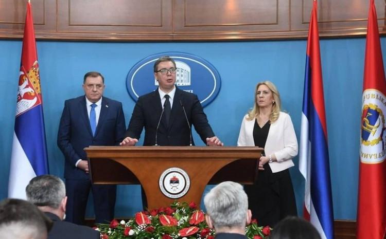 Detalj sa press konferencije