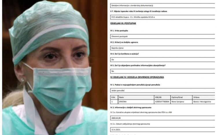 Sebija Izetbegović potpisala ugovor