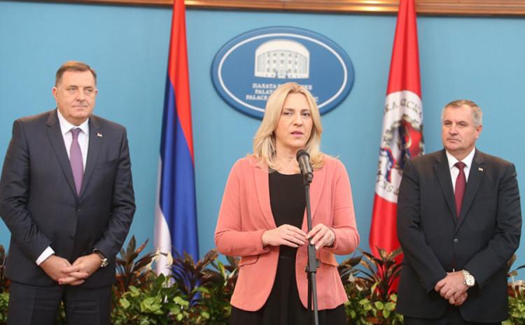 Dodik, Cvijanović i Višković