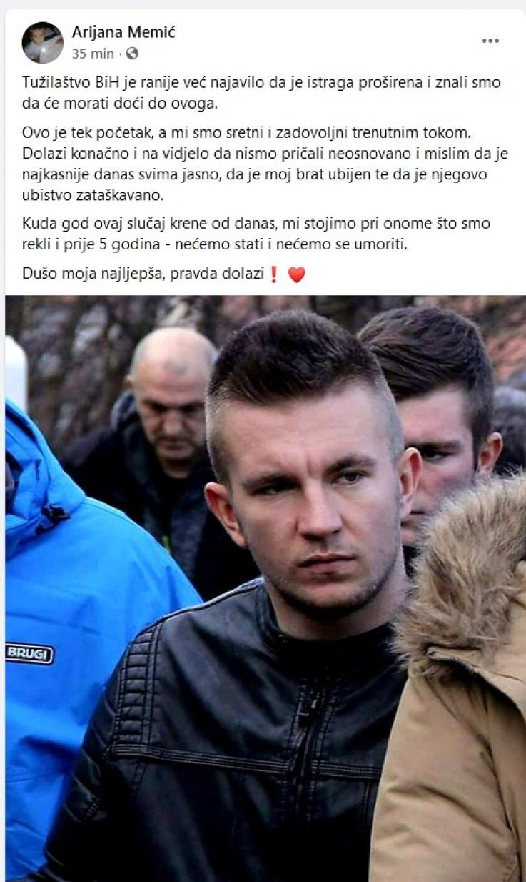 Status Arijane Memić