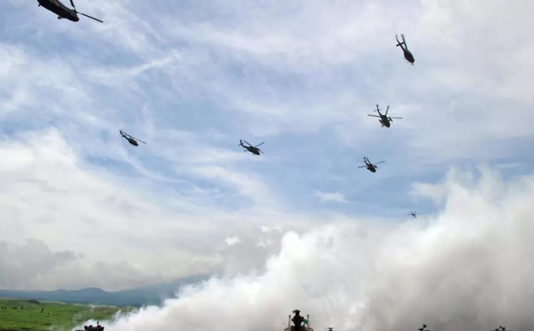 The joint drills will be held at the JGSDF's Kirishima training ground and Camp Ainoura in the Kyushu region and include amphibious operation exercises