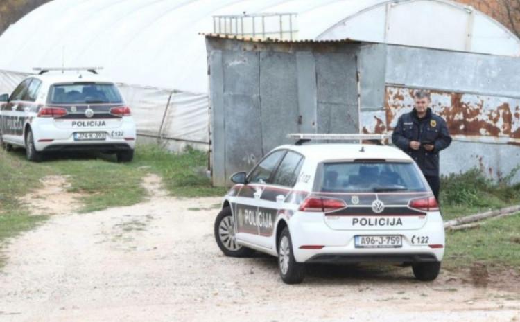 Policija na licu mjesta vrši uviđaj