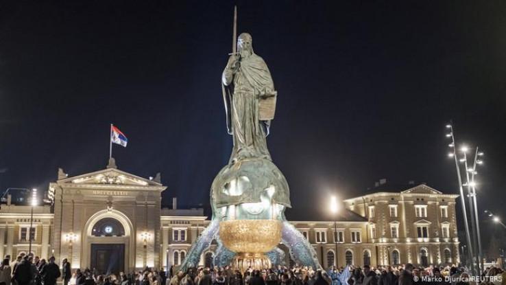 Spomenik Stefanu Nemanji u Beogradu