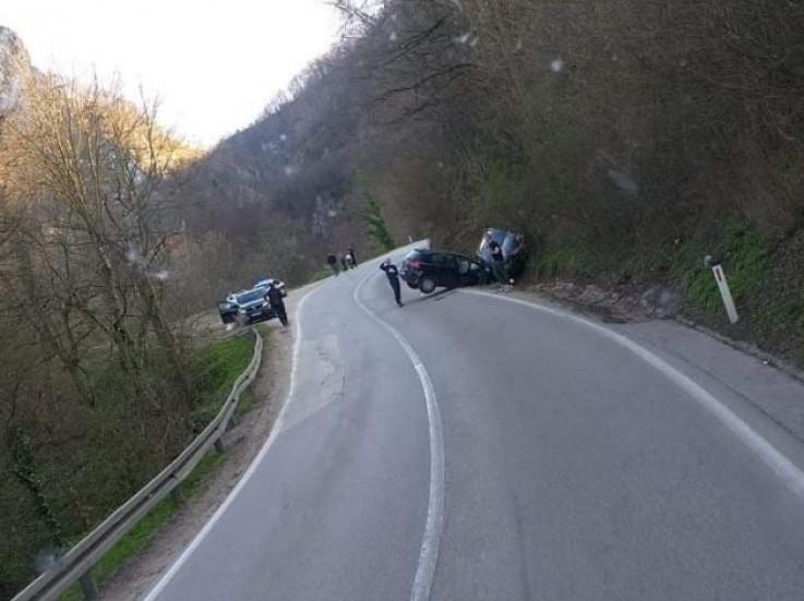 Sudarila se dva vozila