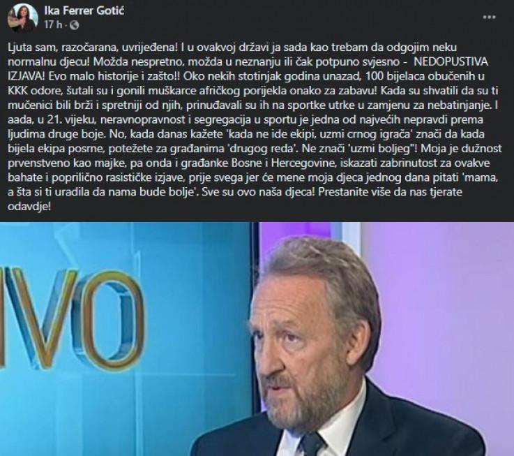 Status novinarke Ike Ferer - Gotić