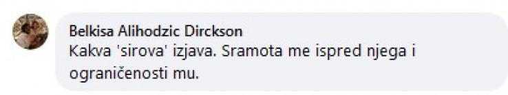 Jedan od komentara na status Ferrer-Gotić
