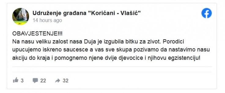 """Status Usruženja """"Korićani-Vlašić"""""""