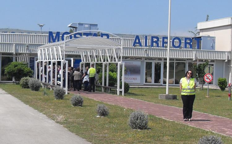 Aerodrom Mostar: U posljednjih šest godina dobili više od 20 miliona KM