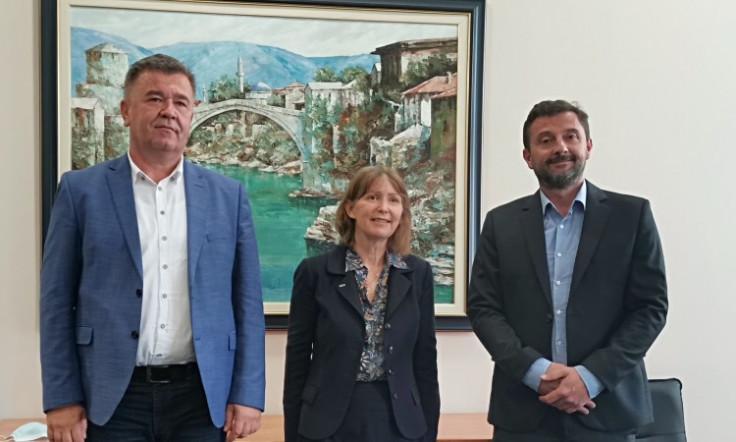 Gradonačelnik Kordić s predstavnicima OSCE-a