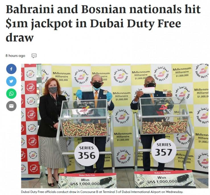Vijest objavio Gulf Today