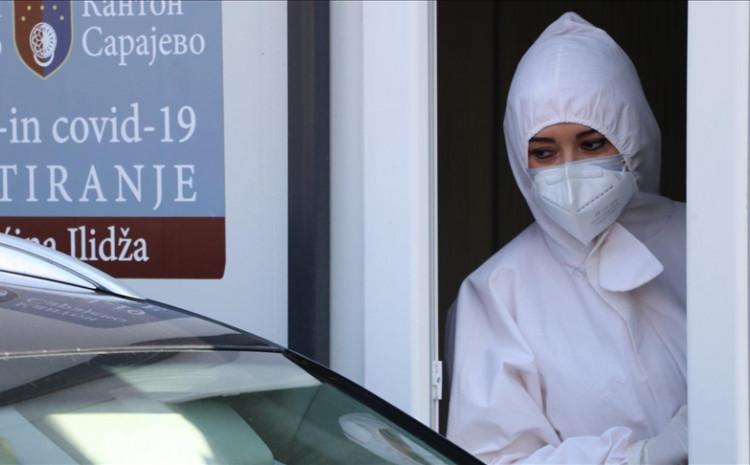 Kanton Sarajevo bilježi 962 aktivna slučaja infekcije koronavirusom
