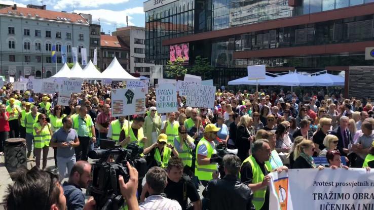 Ovog 1. maja radnici će iskazati svoje nezadovoljstvo nizom protestnih šetnji i okupljanja