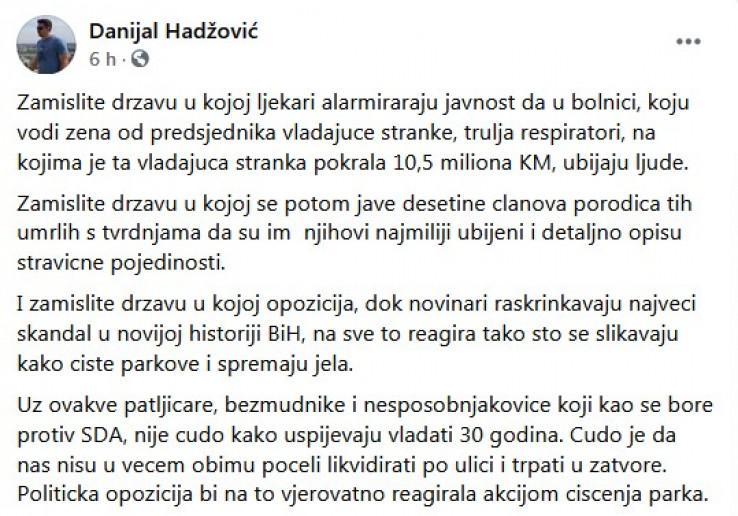 Hadžovićev status