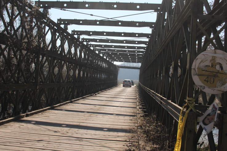 Privremeni most je nesiguran