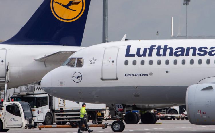 Lufthansa: Pripremaju se za otpuštanja