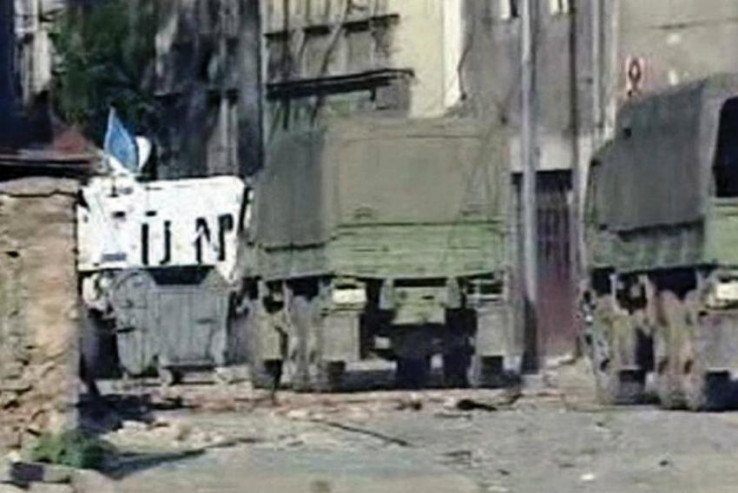 JNA je stala na stranu agresora i izvršila žestok napad