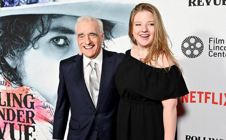 Martin Skorseze sa kćerkom