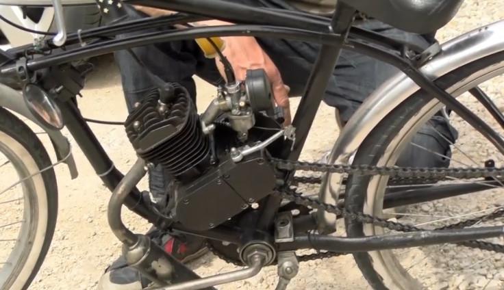 Merdan sam napravio bicikl na motorni pogon
