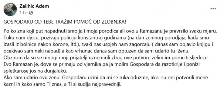 Status Adema Zalihića