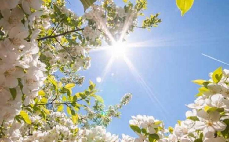 Najviša dnevna temperatura zraka između 18 i 24°C