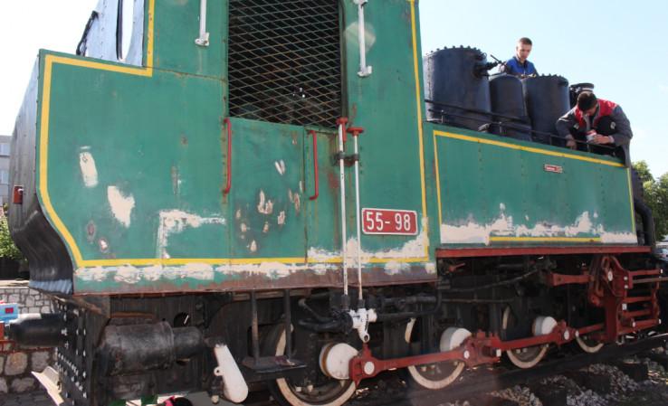 Stigli do farbanja lokomotive 55-98 mađarske proizvodnje
