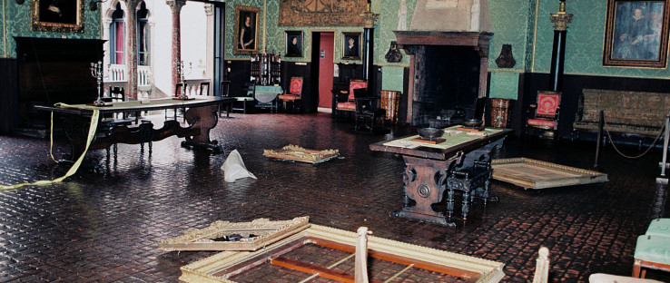 "Iz muzeja ""Isabella Stewart Gardner"" nakon pljačke"