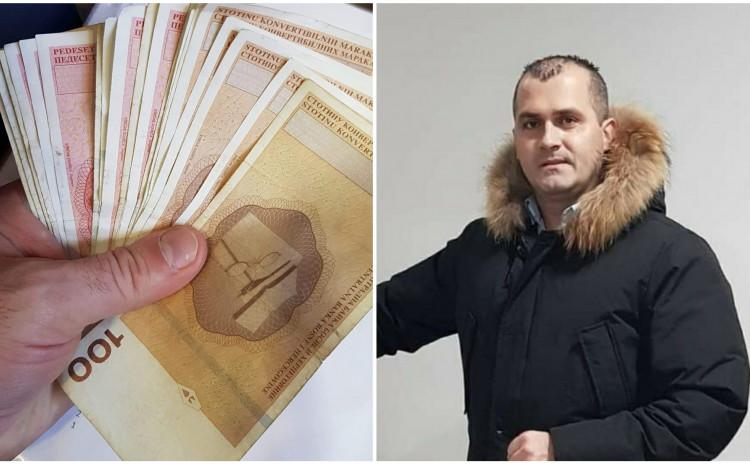 Andrija Petrović pronašao novac