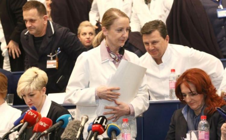 Saopćenje KCUS-a na čelu sa Sebijom Izetbegovićem