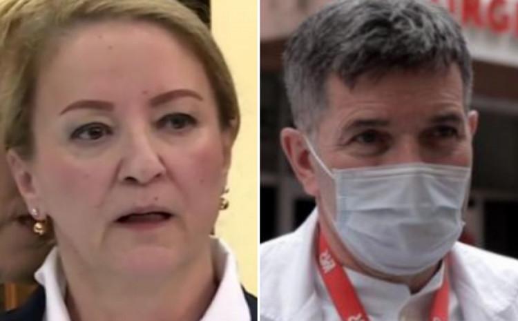 Sebija Izetbegović i Ismet Gavrankapetanović