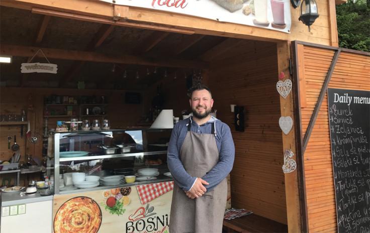 Novak redovan gost mini restorana kod Nermina