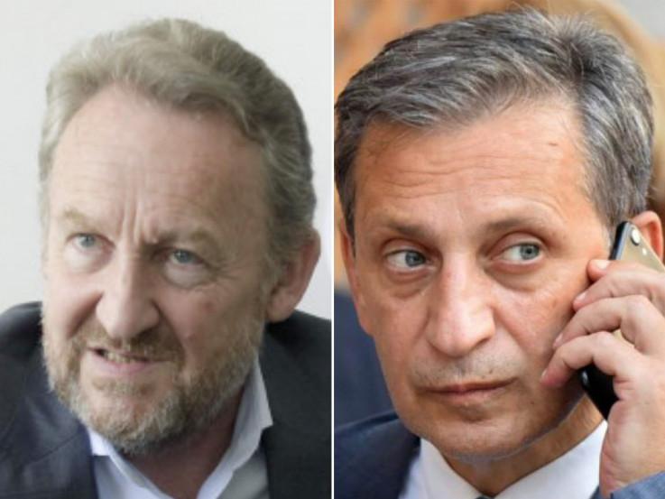 Bakir Izetbegović i Osman Mehmedagić Osmica