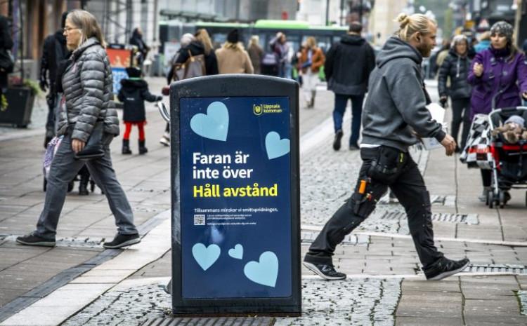 Švedska: Raste broj zaraženih