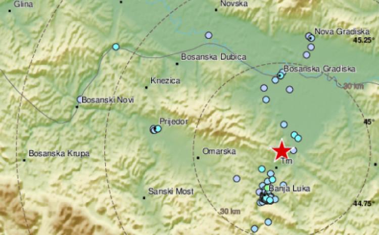 Jačina zemljotresa 2.4 po Richteru