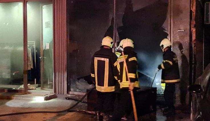Vatrogasci lokalizovali požar