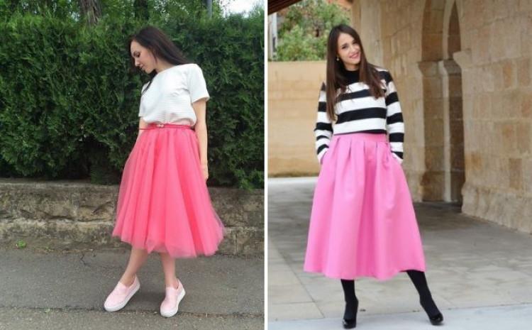 Suknje su savršen komad odjeće za prijalazno razdoblje