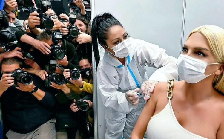 Karleuša jučer primila vakcinu