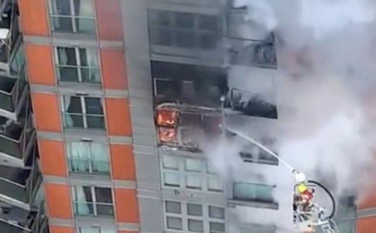 Vatrogasci na terenu