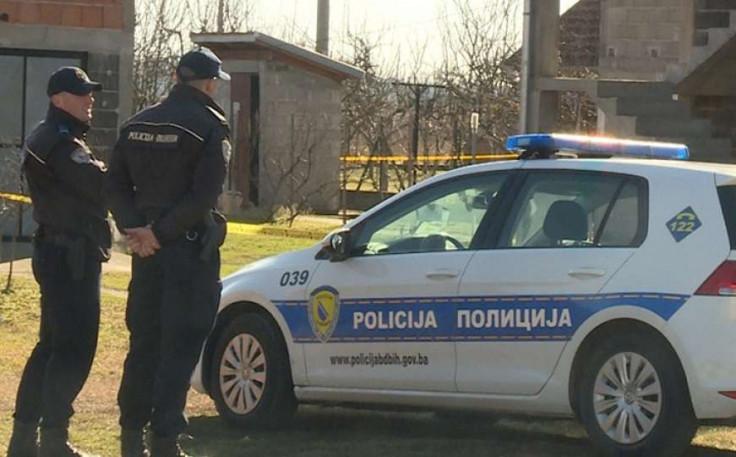 Policija na mjestu ubistva