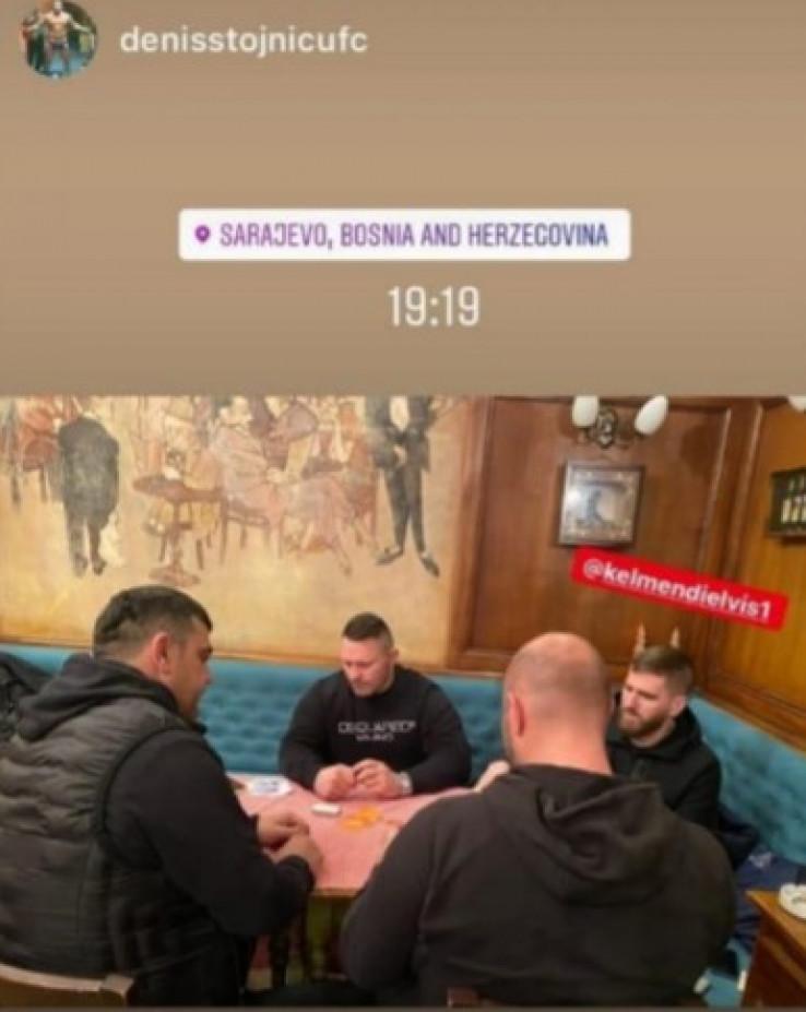Dvije osobe iz RS te Elvis Keljmendi u društvu s kontroverznim ugostiteljem Denisom Stojnićem
