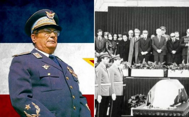 Sahranjen Josib Broz Tito