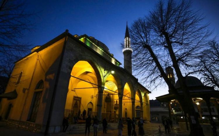 Centralna svečanost u Gazi Husrev-begovoj džamiji u Sarajevu.